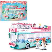 Конструктор M38-B0769 Girl's Dream весільний автобус 379дет.кор.42,5*6,7*33 /12/