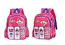 Детский рюкзак кукла LOL дошкольный для девочки в садик 3-5 лет, фото 4