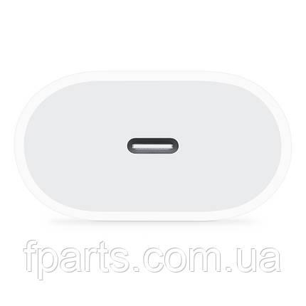Сетевое зарядное устройство Apple 20W USB-C Power Adapter White (MHJE3) , фото 2