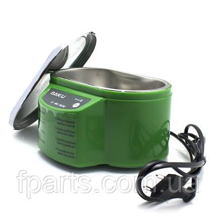Ультразвуковая ванна BAKU BK9030 с металлической крышкой (однорежимная 30W, 0.7L), фото 2