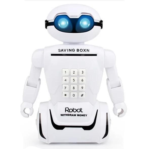 Копилка робот детский с кодовым замком Robot Piggy Bank 149645