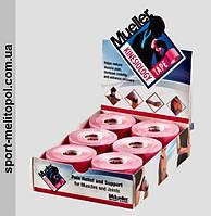 Mueller 28277 - кинезио-тейп 5 см х 5 м (коробка 6 рулонов) - розовый