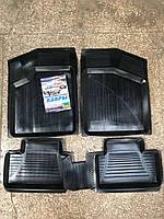 Коврики салона ВАЗ 2108 резиновые (комплект 4 шт)