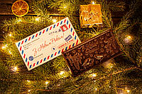 Шоколадная телеграмма Снегири, фото 1