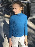Дитячий термогольфик з вовною бірюзовий