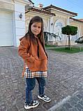 Детский теплый свитшот трехнитка с начесом размер: 116, 122, 128, фото 5