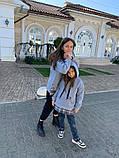 Детский теплый свитшот трехнитка с начесом размер: 116, 122, 128, фото 8