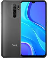 "Смартфон Xiaomi Redmi 9 4/64Gb Carbon Grey Global, 13+8+5+2/8Мп, Helio G80, 2sim, 6.53"" IPS, 5020 mAh, 4G"
