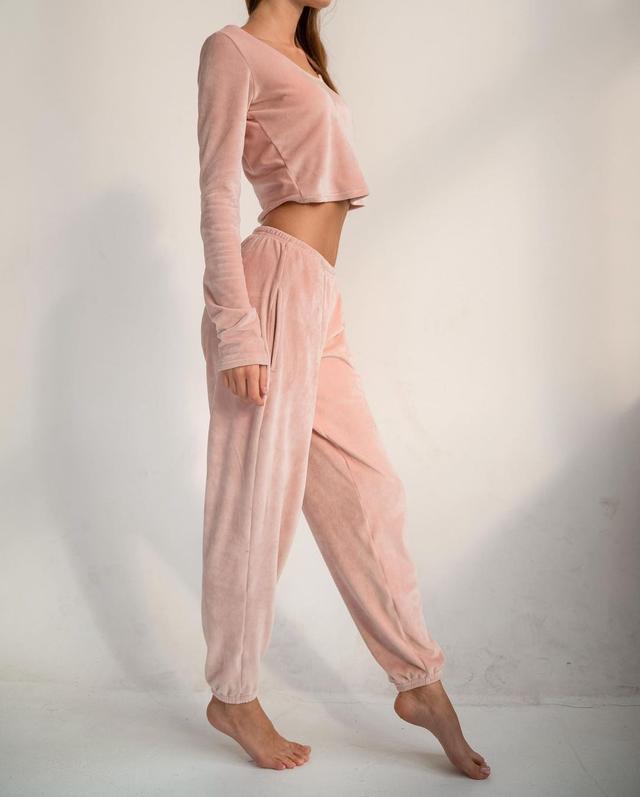 женская велюровая пижама