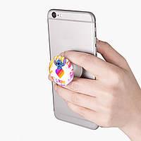 Попсокет (Popsockets) держатель для смартфона Стич Лайки (Stitch Likee) (8754-1596)