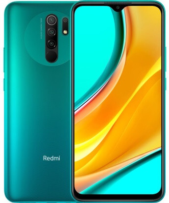 "Смартфон Xiaomi Redmi 9 4/64GB Global Green, 13+8+5+2/8Мп, Helio G80, 2sim, 6.53"" IPS, 5020 mAh, 4G (LTE)"