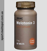 GNC MELATONIN 3 мг 120 капс.