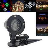 Лазерный проектор Star Shower Color Snowflake, фото 2