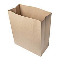 Крафт-пакет с прямоугольным дном 320*150*380 бурый