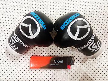 """Подвеска боксерские перчатки """"Mazda"""" Сувенирные перчатки на подарок Мужской подарок в авто"""