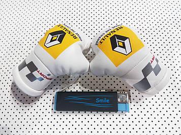 """Подвеска боксерские перчатки """"Renault""""  Подарок мужчине"""