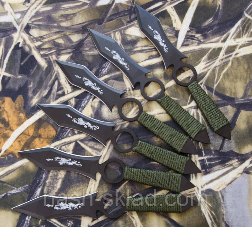 Набор метательных ножей Пугач