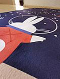 """Бесплатная доставка! Ковер в детскую  """"Космические зайки"""" утепленный коврик мат (1.5*2 м), фото 10"""