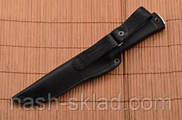 Нож боевой Лазутчик, армейский нож, цельный клинок, нескользящая рукоять, фото 2