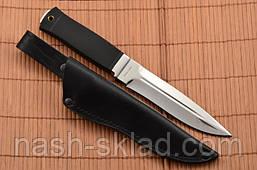 Нож боевой Лазутчик, армейский нож, цельный клинок, нескользящая рукоять, фото 3