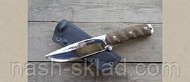 Нож разведки СССР, тактический ножик, пластиковый чехол, фото 2