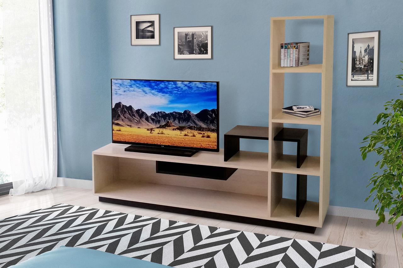 Тумба ТВ витрина ТВ-8 (атланта + венге)