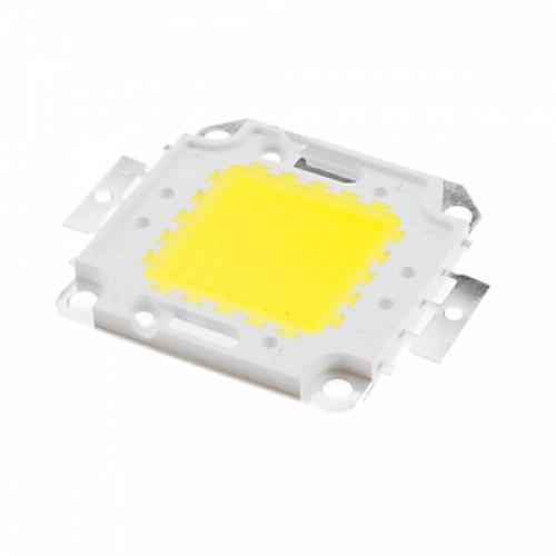 Светодиодная матрица LED 100Вт 8500лм 30-36В, белая, медная подложка, 103666