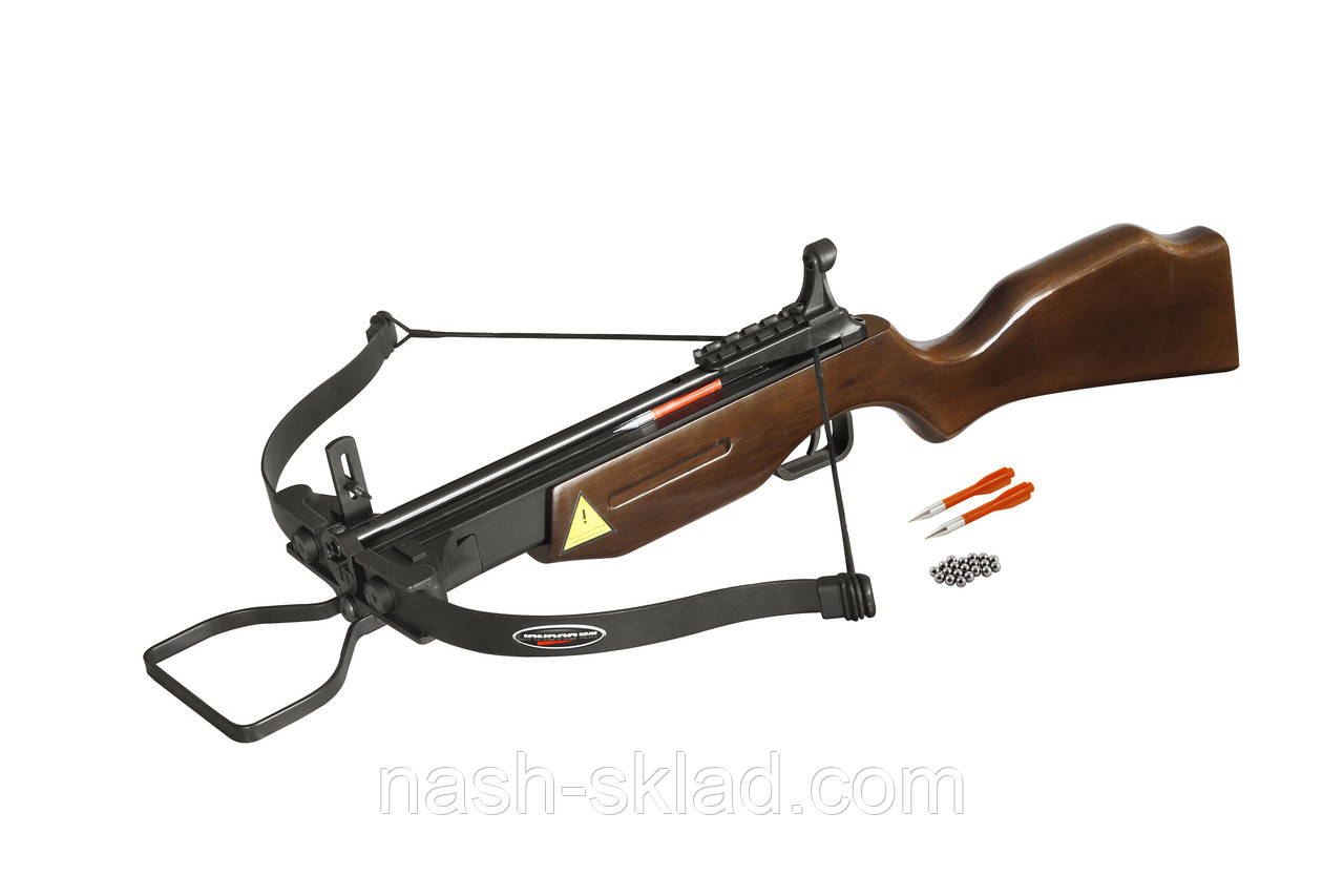 Арбалет для стрельбы дротиками и стальными шариками Питон