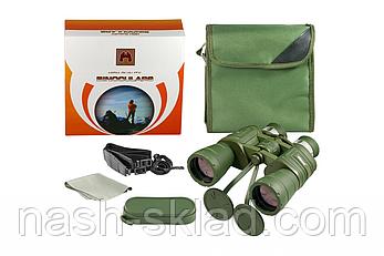 Бинокль 10x50 кратностью, производство Украина, подарок охотнику, фото 2
