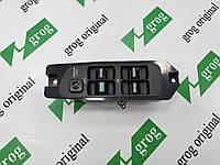 Блок управления стеклоподъёмником ( на 4 кнопки) Нексия grog Корея