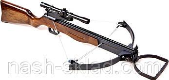 Арбалет блоковий ТДР + приціл, ОРИГІНАЛ, стріляє стрілами, дротиками, і кульками, фото 2