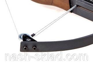 Арбалет блоковий ТДР + приціл, ОРИГІНАЛ, стріляє стрілами, дротиками, і кульками, фото 3
