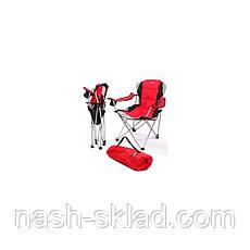 Кресло-шезлонг Элитный Рыбак + сумка, супер подарок мужчине, производство Украина, фото 3