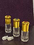 Флакон-роллер  с шариком стеклянный   парфюмерный 2 - 3 мл  для масел, фото 2