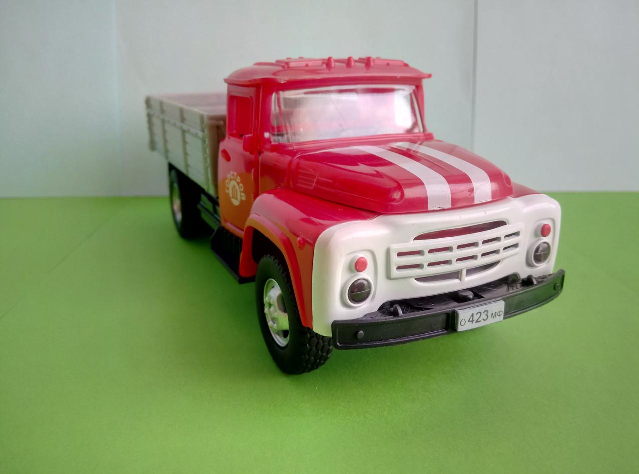 Игрушка грузовой самосвал ЗиЛ Автопарк красный