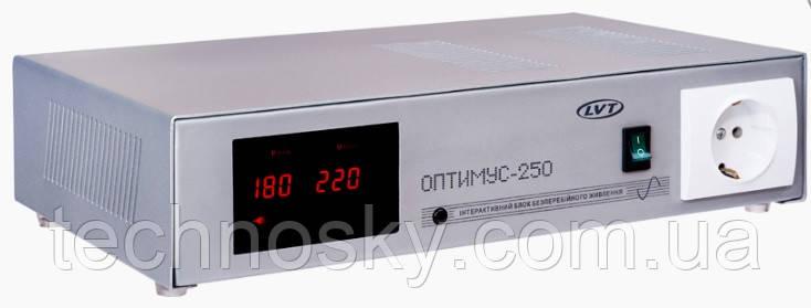 Источник бесперебойного питания ЛВТ Оптимус - 250 12В 250Вт