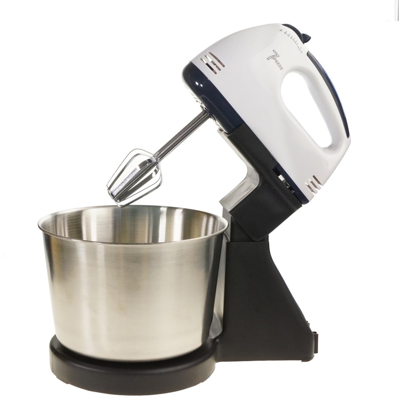 Кухонный миксер с чашей 2 л стационарный для дома