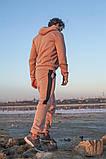 Мужской теплый спортивный костюм трехнитка размер: S-M, L-XL, фото 4