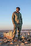 Мужской теплый спортивный костюм трехнитка размер: S-M, L-XL, фото 7
