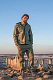 Мужской теплый спортивный костюм трехнитка размер: S-M, L-XL, фото 3