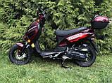 Скутер VENTUS VS80QT-7 80 см3 тёмно-красный, фото 6