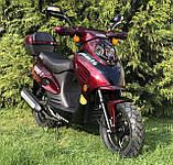 Скутер VENTUS VS80QT-7 80 см3 тёмно-красный, фото 7