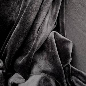 Ткань плюш велюр темно-серый