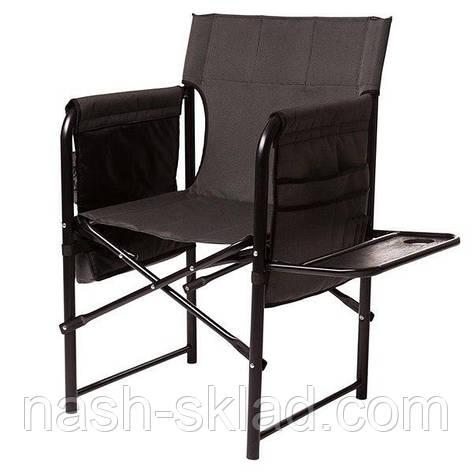 Кресло складное Рыбак с полкой, отличный подарок для мужчины, фото 2
