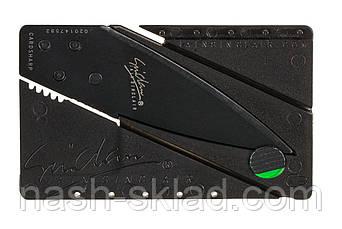 Нож кредитка (визитка) ОРИГИНАЛ, ультратонкий из хирургической стали, фото 2