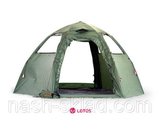Летняя палатка Lotos 5 Мансарда, фото 2