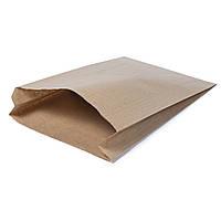 Крафт пакеты для хлеба и лаваша 220мм*80мм*380мм бурый