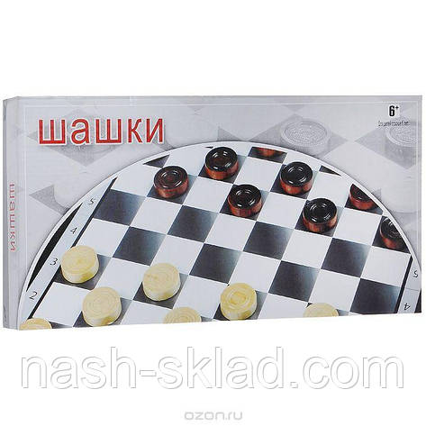 """Игровой набор """"Русские Шашки"""" , фото 2"""