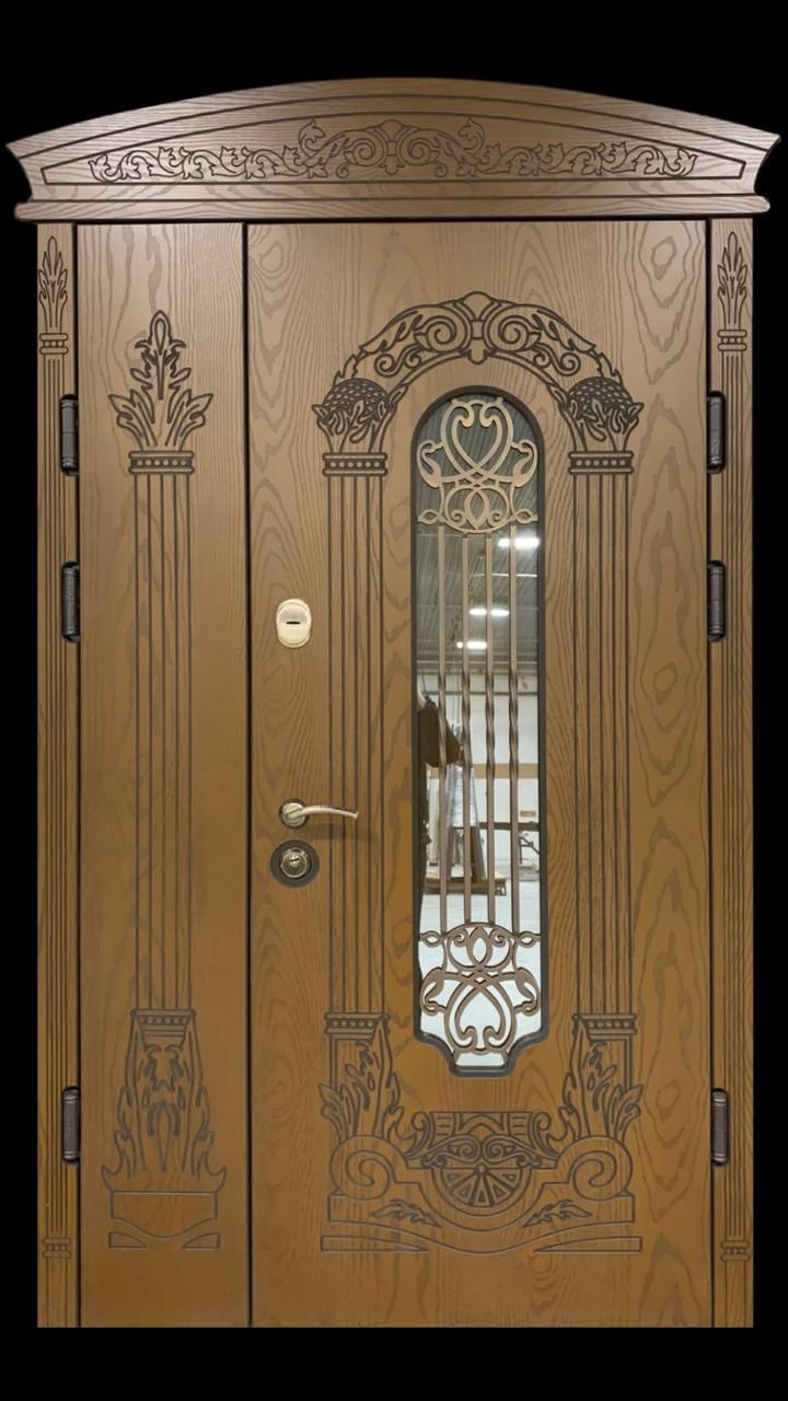 """Двері вхідні полімерні """"Prestige"""" склопакет 20-60"""