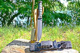 Нож тактический, помощник охотника и туриста, супер качество + алмазная точилка в комплекте, фото 3